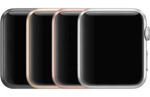 Aluminum Series 1 Apple Watch